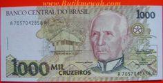 1000 Cruzeiros from Brazil banknote year 1990