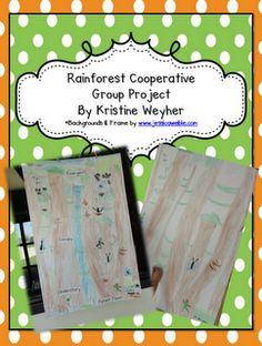Rainforest Cooperative Learning FREEBIE @ www.oursmartcommunity.blogspot.com
