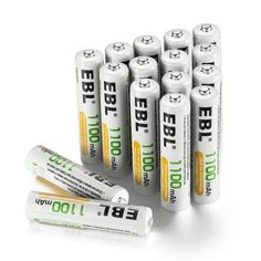 EBL Rechargeable AAA Batteries High Capacity NiMH -- Learn more by visiting the image link. Outdoor Gadgets, Metal Detector, Lead Acid Battery, 100m, Usb Flash Drive, Ebay, Image Link, Men Hiking, Hiking Boots