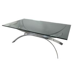 Nice Table Lousteau Living Room Pinterest Nice French And X - Chrome base glass top coffee table