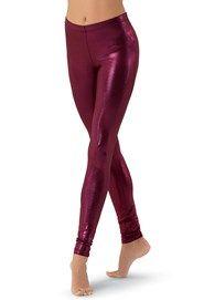 Premium Metallic Ankle-Length Legging | Balera™