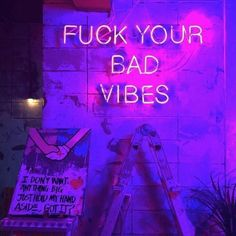 F ** k Bad Vibes neon sign flowers F ** k Bad Vibes neon . can find Neon and more on our website.F ** k Bad Vibes neon sign flowers F ** k Bad Vibes neon . Dark Purple Aesthetic, Violet Aesthetic, Neon Aesthetic, Aesthetic Collage, Purple Wallpaper Iphone, Neon Wallpaper, Aesthetic Iphone Wallpaper, Cool Wallpapers Neon, Neon Backgrounds