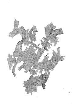 Zeichnung#20 #inkonpaper #artist #ulrikewathling #montblanc #artwork #drawing