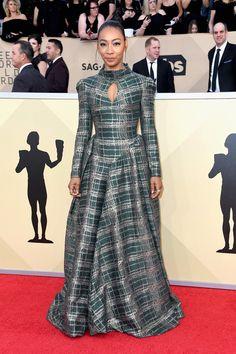 SAG Awards 2018 Red Carpet Trends: Prints Charming | Tom + Lorenzo