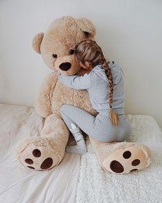 my big teddy bear. my big teddy bear. my big teddy bear. my big teddy bear. Huge Teddy Bears, Large Teddy Bear, Giant Teddy Bear, Knitted Teddy Bear, Teddy Bear Toys, Bear Tumblr, Teady Bear, Tres Belle Photo, Teddy Bear Sewing Pattern