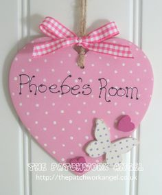 decorated wooden heart - Google Search