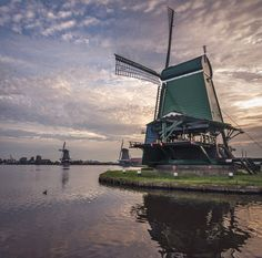 Kingdom Of The Netherlands, Wind Of Change, Interior Exterior, Rotterdam, Windmill, How To Take Photos, Lighthouse, Holland, Sunrise