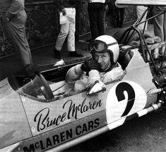 McLaren M7A Mclaren Cars, Mclaren Mercedes, Ferrari, Bruce Mclaren, British Grand Prix, Vintage Race Car, Car Makes, Car And Driver, The Good Old Days