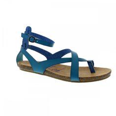 Blowfish Gill Lagoon Blue Ladies Casual Sandal - Blowfish from Bells Shoes UK