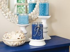 Gold Canyon Candles has beautiful blues in several shades!  Leah Johnson - Gold Canyon Candle