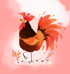 Rooster Year #rooster #animals #roosteryear  https://www.instagram.com/katjapotokar/