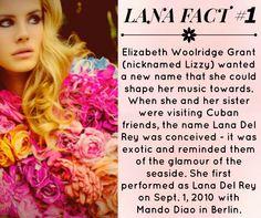 Lana Del Rey #LDR #facts