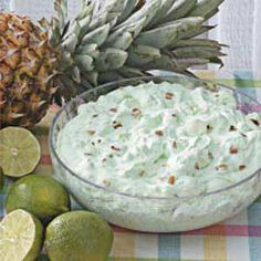 Fluffy Lime Salad  •1 can (8 ounces) crushed pineapple  •1 package (3 ounces) lime gelatin  •3 tablespoons water  •2 packages (3 ounces each) cream cheese, softened  •1 cup chopped Diamond of California® Walnuts  •1 cup miniature marshmallows  •1 cup heavy whipping cream, whipped