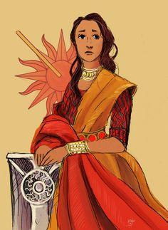 "kirjoart: ""The Princess Elia - Good and gracious lady of Dorne """