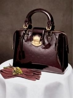 "Frockage: Louis Vuitton ""Vernis"" style bags and accessories"