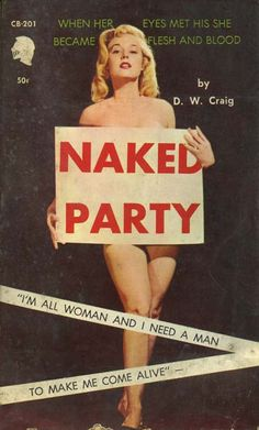 Betty Brosmer - Naked Party by D.W. Craig/ Chariot CB201, 1962