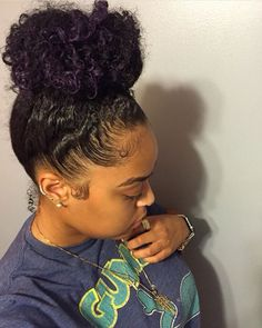 Image in hair🖕🏽👩🏽💇🏼💁🏼 collection by Cheaa~bae Black Girls Hairstyles, Pretty Hairstyles, Weave Hairstyles, Curly Hair Styles, Natural Hair Styles, Hair Addiction, Curls For The Girls, Trending Haircuts, Hair Laid