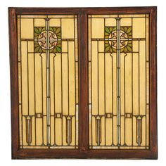 ARTS & CRAFTS Stained glass window - Price Estimate: $2000 - $3000
