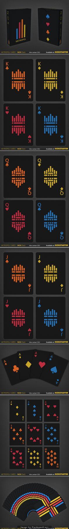Metropol NOX Playing Cards
