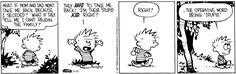 Calvin and Hobbes strip for September 20, 2017