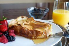 Quero agora: torradas francesas com maçã, canela e mel