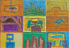 An engaging art lesson that can incorporate icons of Australia's past as well as current Australian icons.