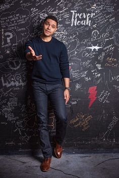 Found - Paul Mobley Trevor Noah, Funny Pictures Can't Stop Laughing, T Baby, The Daily Show, Boho Girl, Alpha Male, Work Looks, Party Guests, Dimples