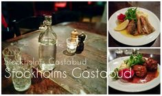 Stockholm: eat and drink
