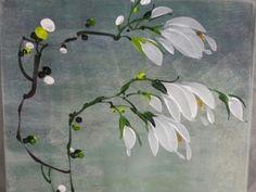 천아트 화담갤러리 T Shirt Painting, One Stroke Painting, Fabric Painting, Illustration Blume, Botanical Art, Flower Art, Hand Embroidery, Watercolor Paintings, Artsy