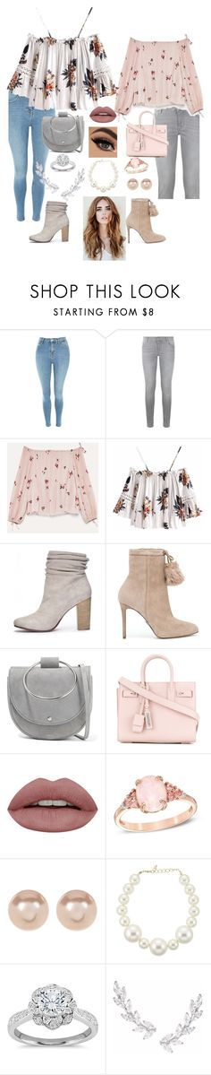 """""""Bethoven"""" by annabelledesighns ❤ liked on Polyvore featuring Topshop, Maje, Chinese Laundry, MICHAEL Michael Kors, Theory, Yves Saint Laurent, Nordstrom Rack, Kenneth Jay Lane, Zac Posen and Humble Chic"""