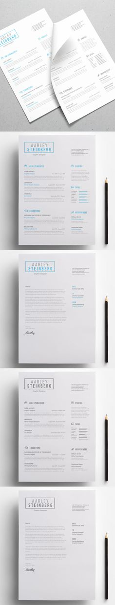 Minimal resume is a resume template with simple and clean design. Template PSD, MS Word .docx