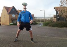 Rugby freestyler for half time Keep your eyes on the ball & Repin!! www.streets-united.com