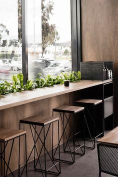 Redfox & Wilcox - Alpha Bar Stools - Cafe Fitout