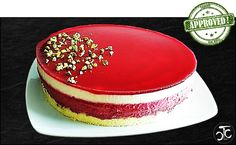 Entremets fruits rouges citron (crashTest)
