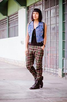 Tartan pants | Fashion In Da Hat