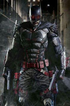 Batman in the flashpoint suit.