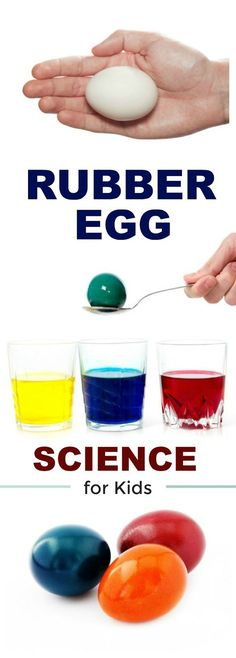 AWESOME KIDS SCIENCE:  RAINBOW RUBBER EGGS