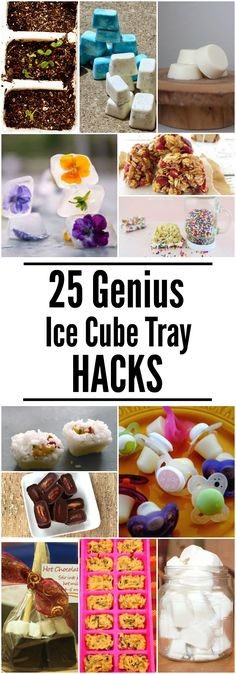 Money Saving Uses For Old Ice Cube Trays These Ice Cube Tray Hacks will make your life easier (and so much more delicious!) Click now!These Ice Cube Tray Hacks will make your life easier (and so much more delicious!) Click now! Ice Cube Molds, Ice Cube Trays, Ice Tray, Tupperware, Round Ice Cubes, Ice Ice Baby, Food Hacks, Hacks Diy, Safe Food