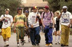 High school & college years. 90's skater - thrasher boy look. G;)