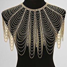 Kuvahaun tulos haulle beaded shoulder necklace