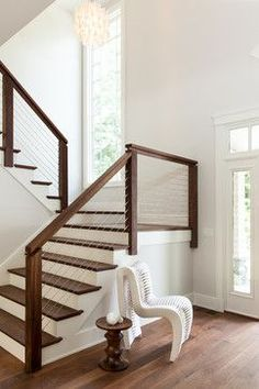 Norwell Residence transitional-staircase