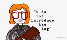 i do not introduce the log