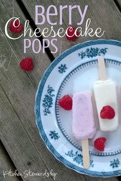 Simple Berry Cheesecake Popsicle Recipe   Kitchen Stewardship   A Baby Steps Approach to Balanced Nutrition