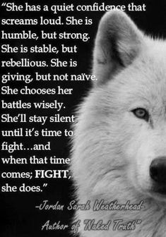 She is too timeless for a name you can think but you can imagine the sound her howl and you will find her name in your heart.