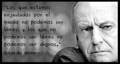 Eduardo Galeano, Periodista y Escritor Uruguayo