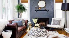 Cozy bungalow living room
