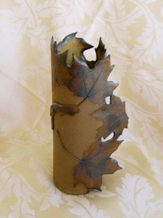 Maple Leaf Vase by Linda Leonforte