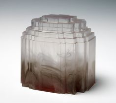 Alison Wilding, Rising, 2001  Cast acrylic with pigment  17 x 14 x 17 cm  Edition: 35  the multiple store