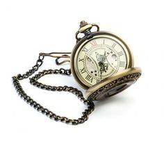 Zegarek kieszonkowy Elegancja w Drewnie II