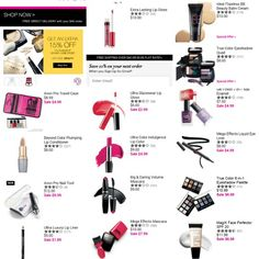 There is still time to get 15% off makeup and skin care products at www.youravon.com/aweifenbach with promo code BEAUTY